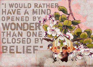 Keep an open mind, challenge your belief systems, question everything, and seek the truth. FREE YOUR MIND.