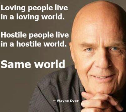 Which world do you live in?
