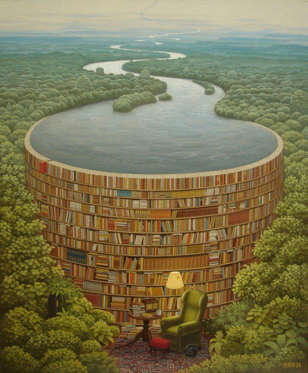 Drown yourself in a sea of knowledge and existence.