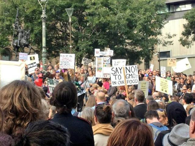Happy Marching to everyone out there in the streets today letting their voices be heard. Down with Monsanto!