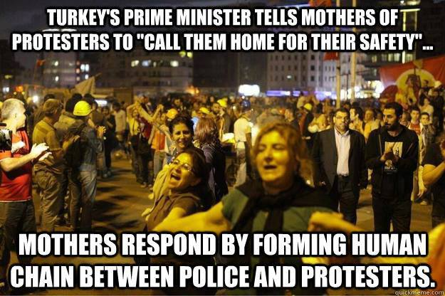 Wow. This is awesome. Power to all the strong, beautiful mothers of the world. Unite!