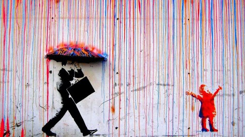 """""""Life isn't about waiting for the storm to pass...It's about learning to dance in the rain.""""  ~ Vivian Greene"""