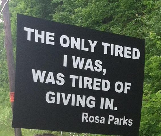 """""""I would like to be remembered as a person who wanted to be free... so other people would also be free.""""  ~ Rosa Parks"""