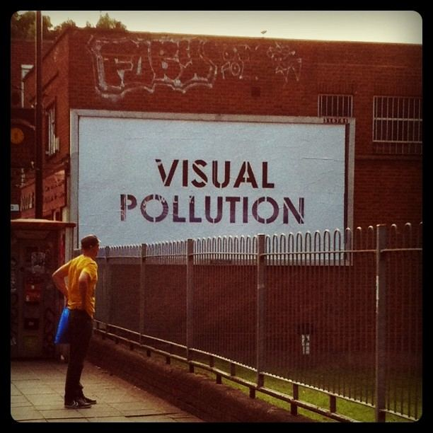 Visual pollution