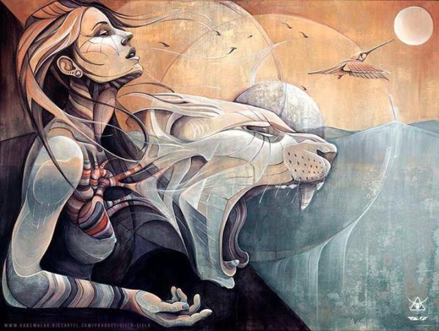 Art by Hans Walør