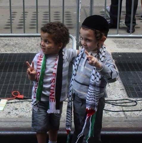 palestine Israel kids