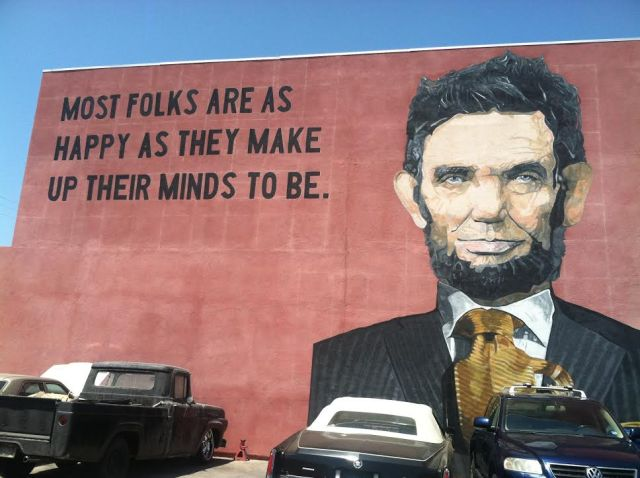 Lincoln street art