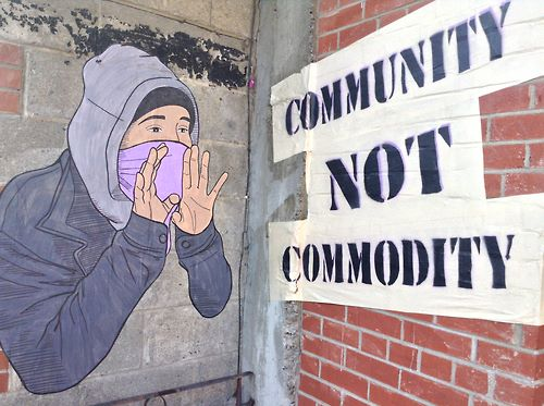 Community not commodity
