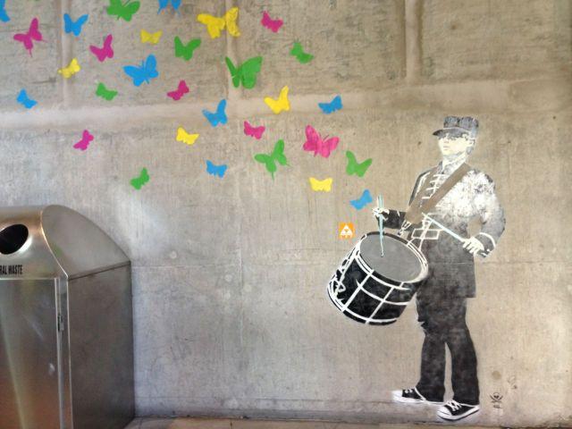 drum butterflies
