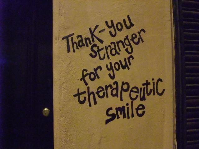 Thank you stranger