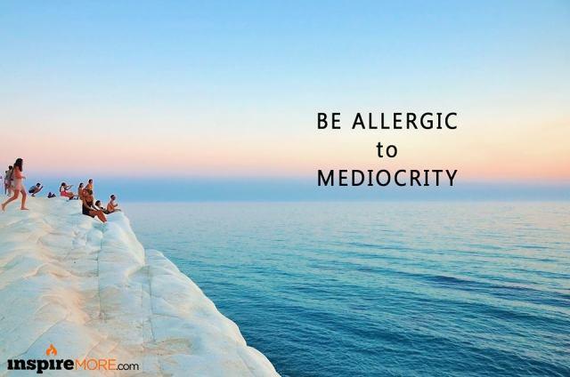 Be allergic
