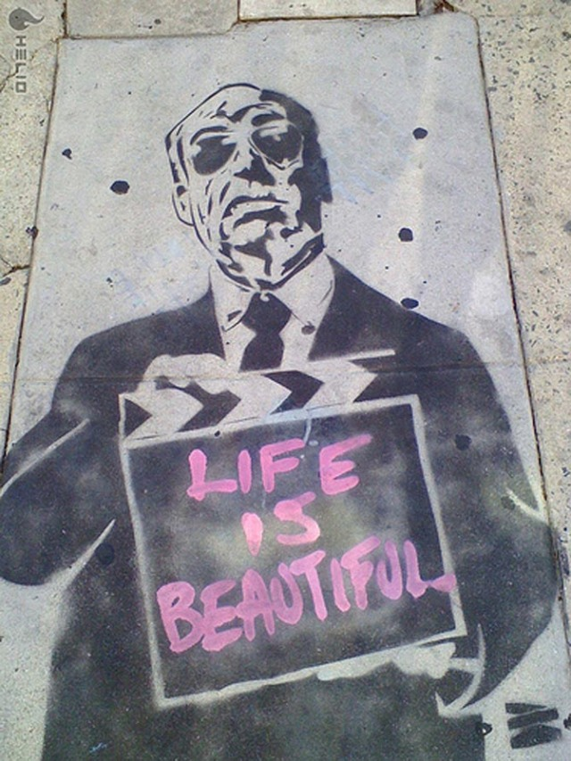 life-is-beautiful by Mr. Brainwash