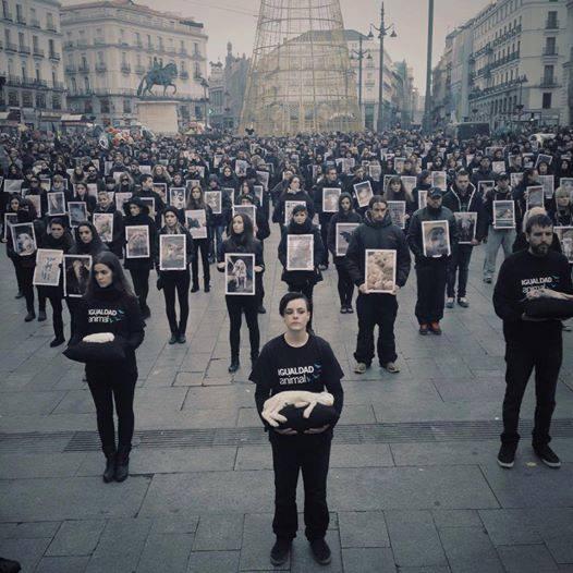 animal protest