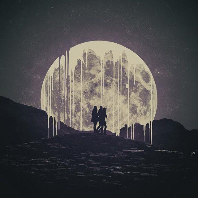 Moon art~ Ash White
