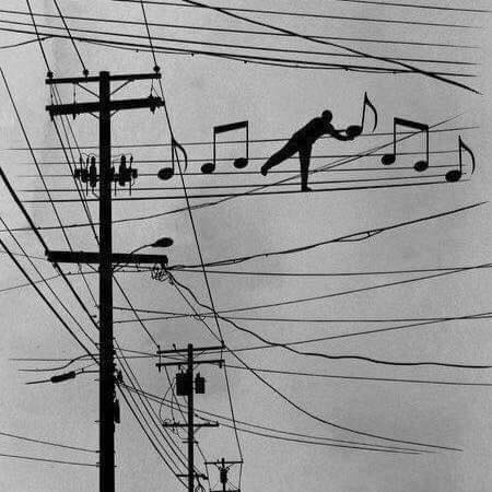Music power lines