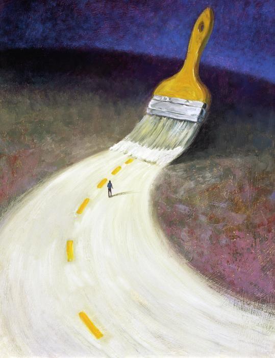 paint path