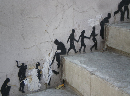 people street art