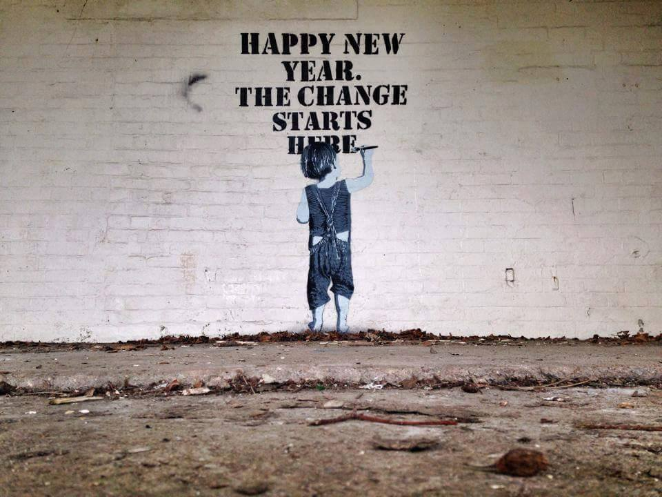 And now we welcome the new year, full of things that have never been ...