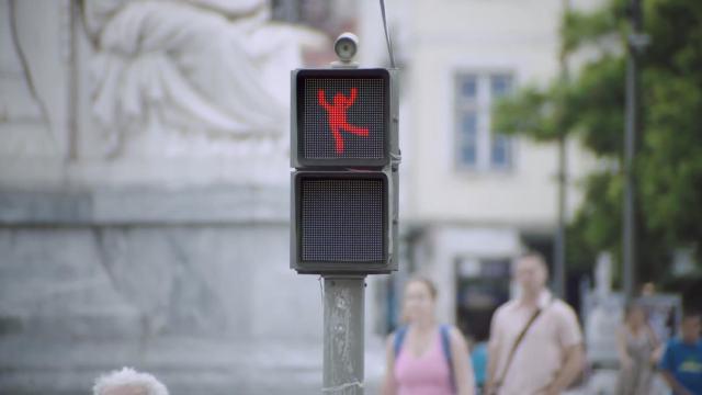 dance street sign