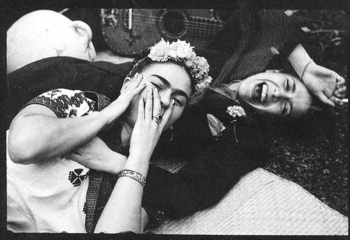Frida and friend