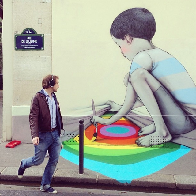Street Art by Seth (in Paris)