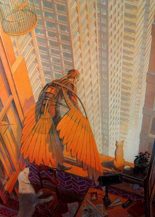 Artwork by François Schuiten