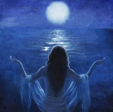 Moon Art by David Joaquin