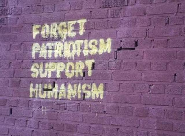 forget patriotism