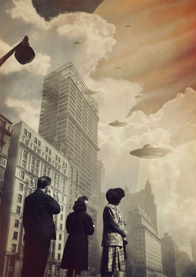 Surreal Collages of Joseba Elorza