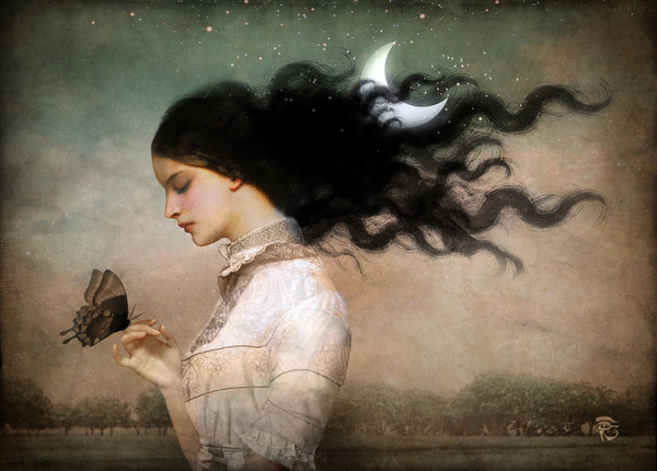 Moon hair by Christian Schloe