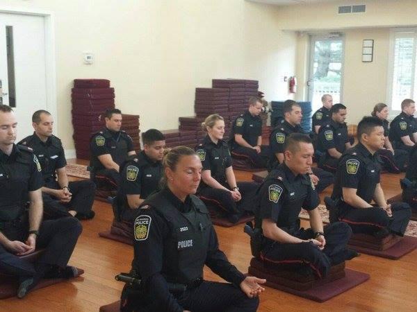 police meditation