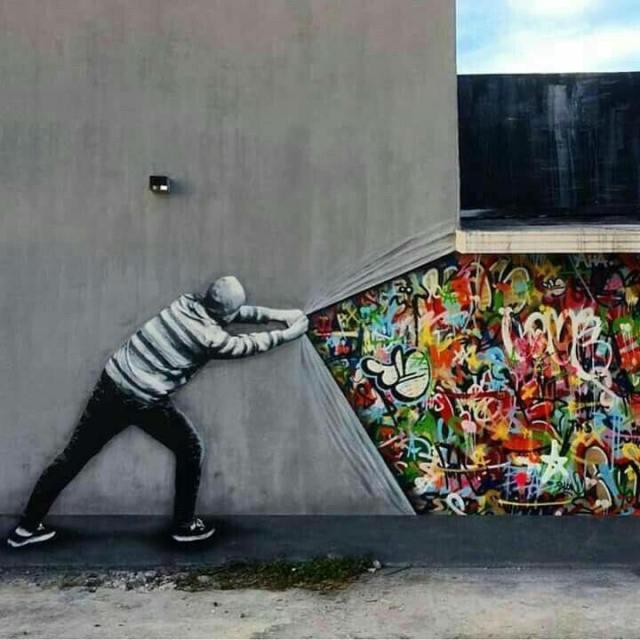 Street art color