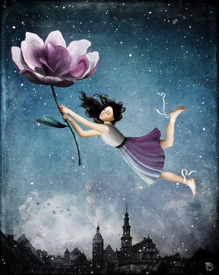 Flower art by Christian Schloe