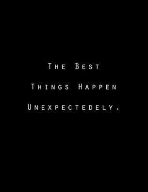 the best things happen