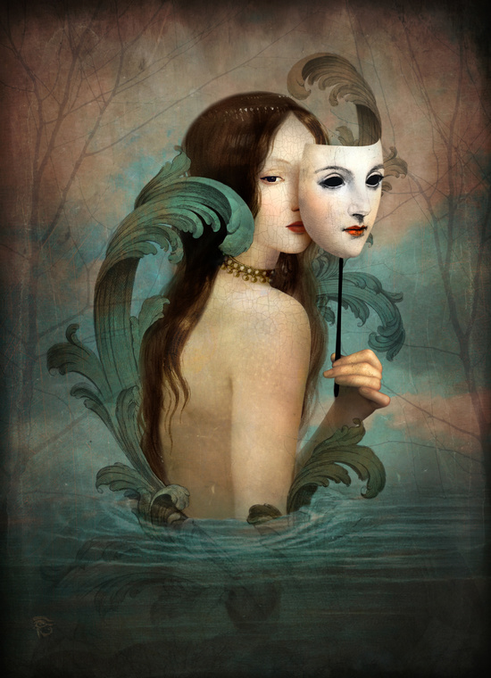 Mask art by Christian Schloe