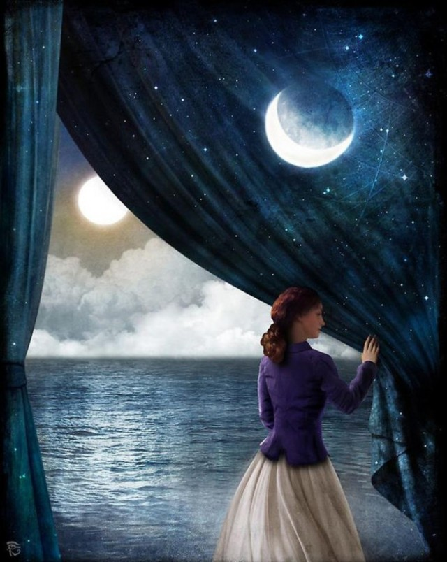 Moon by Christian Schloe