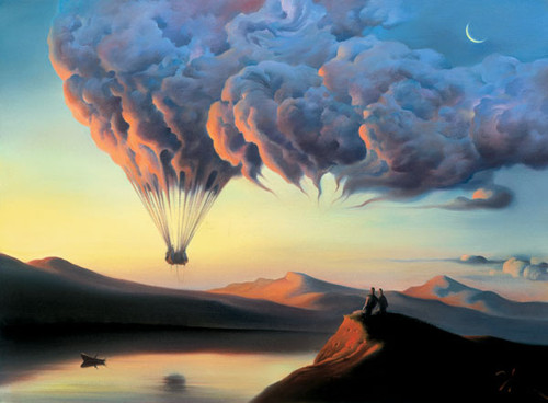 New Moon by Vladimir Kush