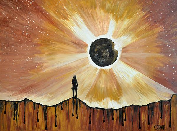 Eclipse art - cedar lee