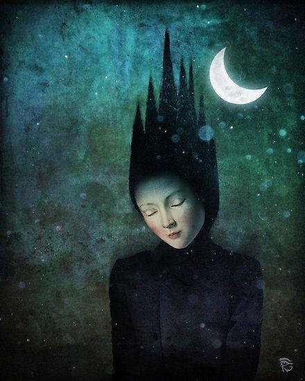 New Moon art by Christian Schloe