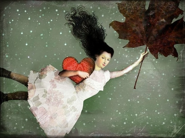 Heart Art by Catrin Welz-Stein