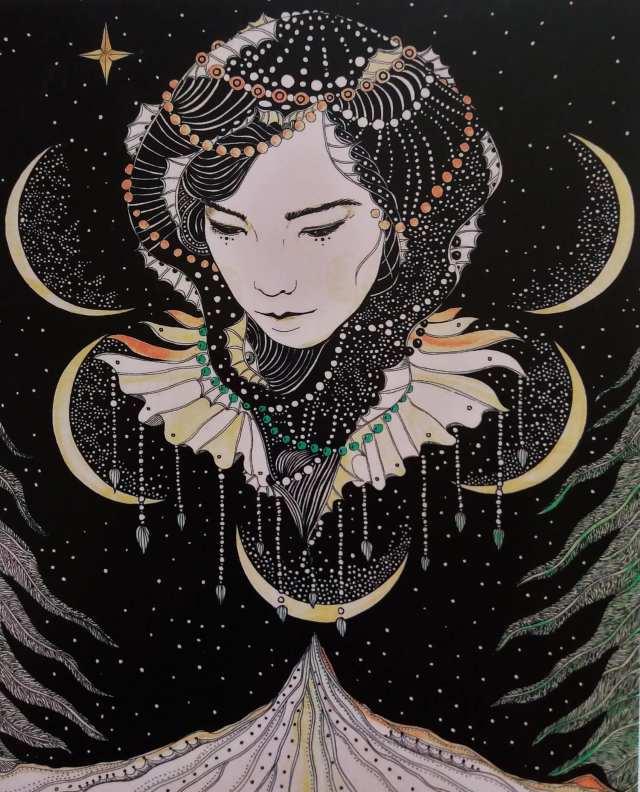 Artist- Daria Hlazatova